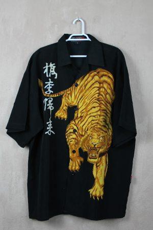 Camisa Manga Gold Tiger