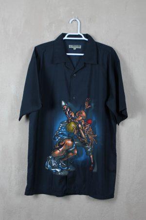 Camisa Manga Street Basket